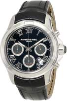 "Raymond Weil Men's 7260-STC-00208 ""Parsifal"" Stainless Steel Watch with Leather Band"