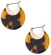 Lauren Ralph Lauren Tortoise Hoop Earrings