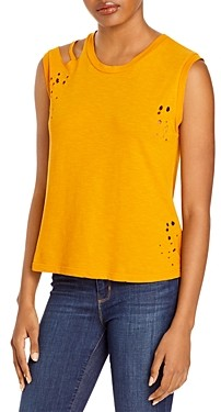 LnA Tripper Cotton Cutout Tank