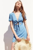 Kimchi & Blue Kimchi Blue Bow-Front Cutout A-Line Mini Dress