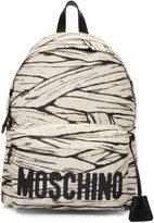 Moschino Off-White Large Mummy Backpack