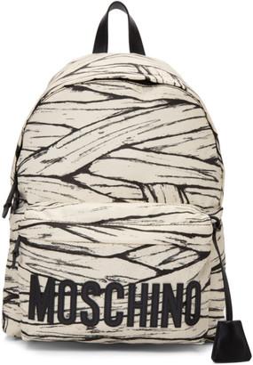 Moschino Off-White Large Mummy Backpack