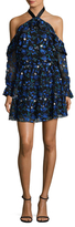 Alexia Admor Floral Embroidery Dress
