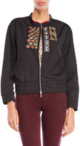 Custo Barcelona Embroidered Bomber Jacket