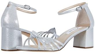 Nina Nidiah (True Silver Reflective Suedette) Women's Shoes