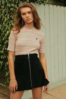 Urban Outfitters Jumbo Corduroy Zip A-Line Skirt