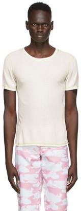 Phlemuns White Backless T-Shirt