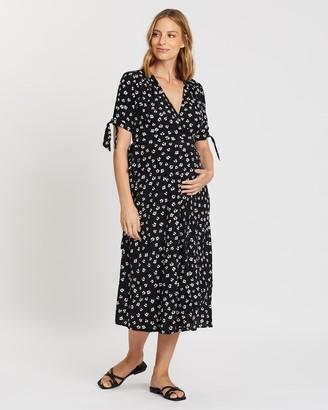 Seraphine Bessie Midi Wrap Dress