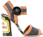 Dolce & Gabbana Keira sandals with bright LEDs