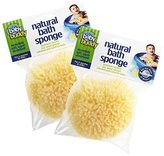 Baby Buddy Natural Bath Sponge, Natural (2 Count)