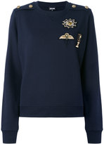 Just Cavalli embellished sweatshirt