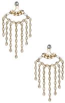 Dannijo Farrah Crystal Drop Earrings