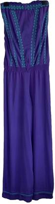 Poupette St Barth Purple Viscose Jumpsuits