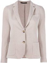 Eleventy two button blazer - women - Cotton/Polyamide/Polyester/Viscose - 40