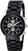 XOXO Women's XO5592 Black Analog Watch