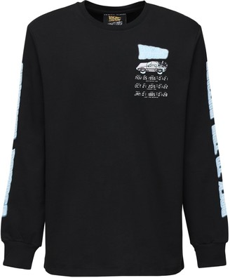 Criminal Damage Printed Cotton Long Sleeve T-Shirt