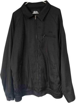 Stussy Black Cotton Jackets
