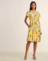 Moschino Dancing Chess Fit & Flare Dress