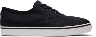 Toms Black Canvas Men's Cordones Indio