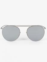 Mykita X Maison Martin Margiela x Maison Margiela Silver MMESSE 009 Sunglasses