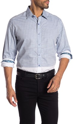 Robert Graham Cano Patterned Long Sleeve Classic Fit Shirt