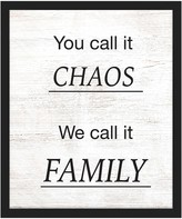 PTM Images You Call It Chaos Framed Giclee - 18 x 22
