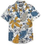 O'Neill Boy's Lahaina Tropical Print Woven Shirt