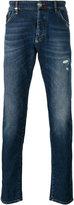 Philipp Plein distressed slim fit jeans