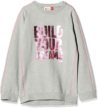 Lego Wear Girl's Lwtulla Wendepailletten Sweatshirt