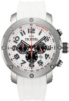 TW Steel Men's TW122 Grandeur Tech Rubber Chronograph Dial Watch