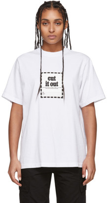Noon Goons White Cut It Out T-Shirt