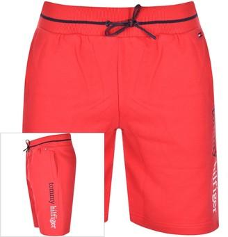 Tommy Hilfiger Loungewear Logo Shorts Red