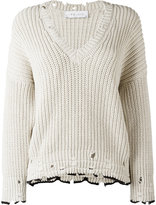 IRO v-neck jumper - women - Cotton - S