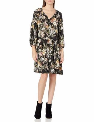 Velvet by Graham & Spencer Women's Print Peasant Dress