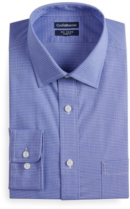 Croft & Barrow Men's Slim-Fit No-Iron Spread Collar Stretch Dress Shirt