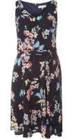Dorothy Perkins Womens **Billie & Blossom Petite Navy Skater Dress