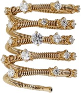 MATTIA CIELO Rugiada Five-Circle Wrap Diamond Ring
