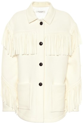 Philosophy di Lorenzo Serafini Fringed wool-blend jacket