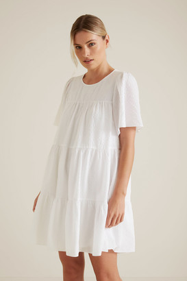 Seed Heritage Floaty Textured Dress