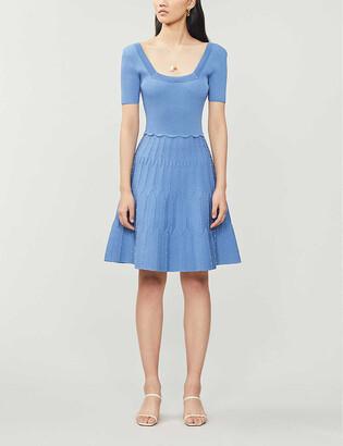 Sandro Flyn stretch-knit mini dress