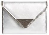 Rebecca Minkoff Women's Molly Metro Metallic Leather Wallet - Metallic