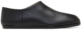 Maison Margiela Black Tabi Babouche Loafers