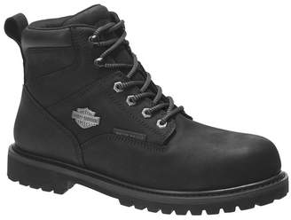 Harley-Davidson Gavern Lace-Up Waterproof Leather Boot