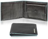 Piquadro Blue Square-Men's Billfold Leather Wallet