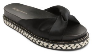 BCBGeneration Essina Knotted Footbed Sandals Women's Shoes