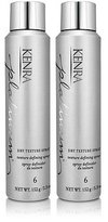Kenra Platinum Dry Texture Spray # 6 Texture Defining Spray 5.3oz Two Pack Deal!