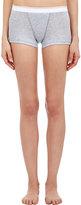 Sloane & Tate Women's Silverlake Boy Shorts-LIGHT GREY