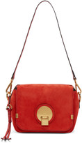 Chloé Red Suede Small Indy Bag