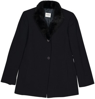 Gianfranco Ferre Black Mink Jackets