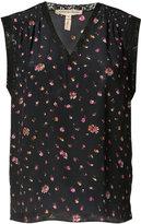 Rebecca Taylor floral lace trim tank - women - Silk - 4